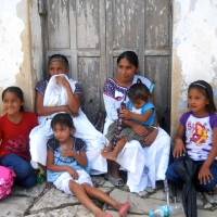 Beautiful People in Cuetzalan (Puebla) Mexico