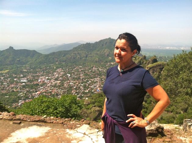 Cerro del Tepozteco, en Morelos, Mexico.