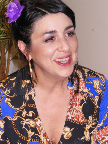 Amparo Sanchez in Paris, Francia, February 2013.  Foto by Julieta Schneebeli