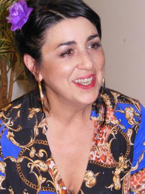 Amparo Sánchez le canta a la mujer