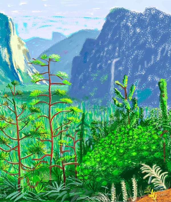 Big. For California. By David Hockney.
