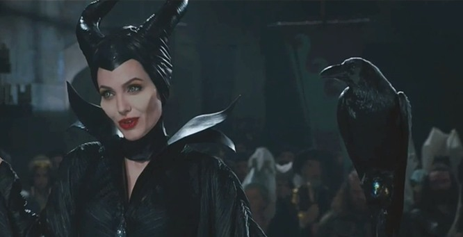 Stunning Maleficent. Ugly, Stupid King.