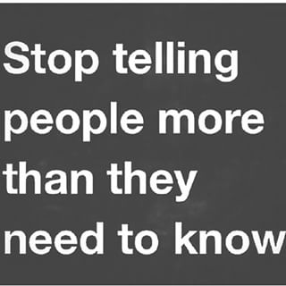 StopTellingPeople
