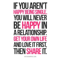 If You Aren't Happy Being Single...