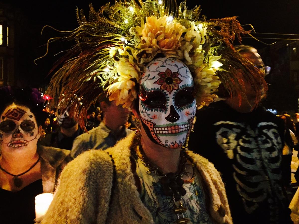 Dia de Los Muertos, A la San Francisco.