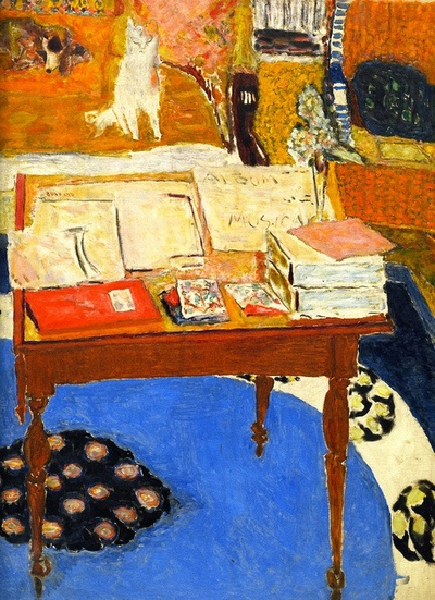 TheWOrkTable_Bonnard