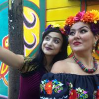 Want to be like Frida Kahlo for a Day? - The SELFrida Challenge in SF.