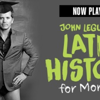 "Leguizamo Strikes a Chord in ""Latin History for Morons."""