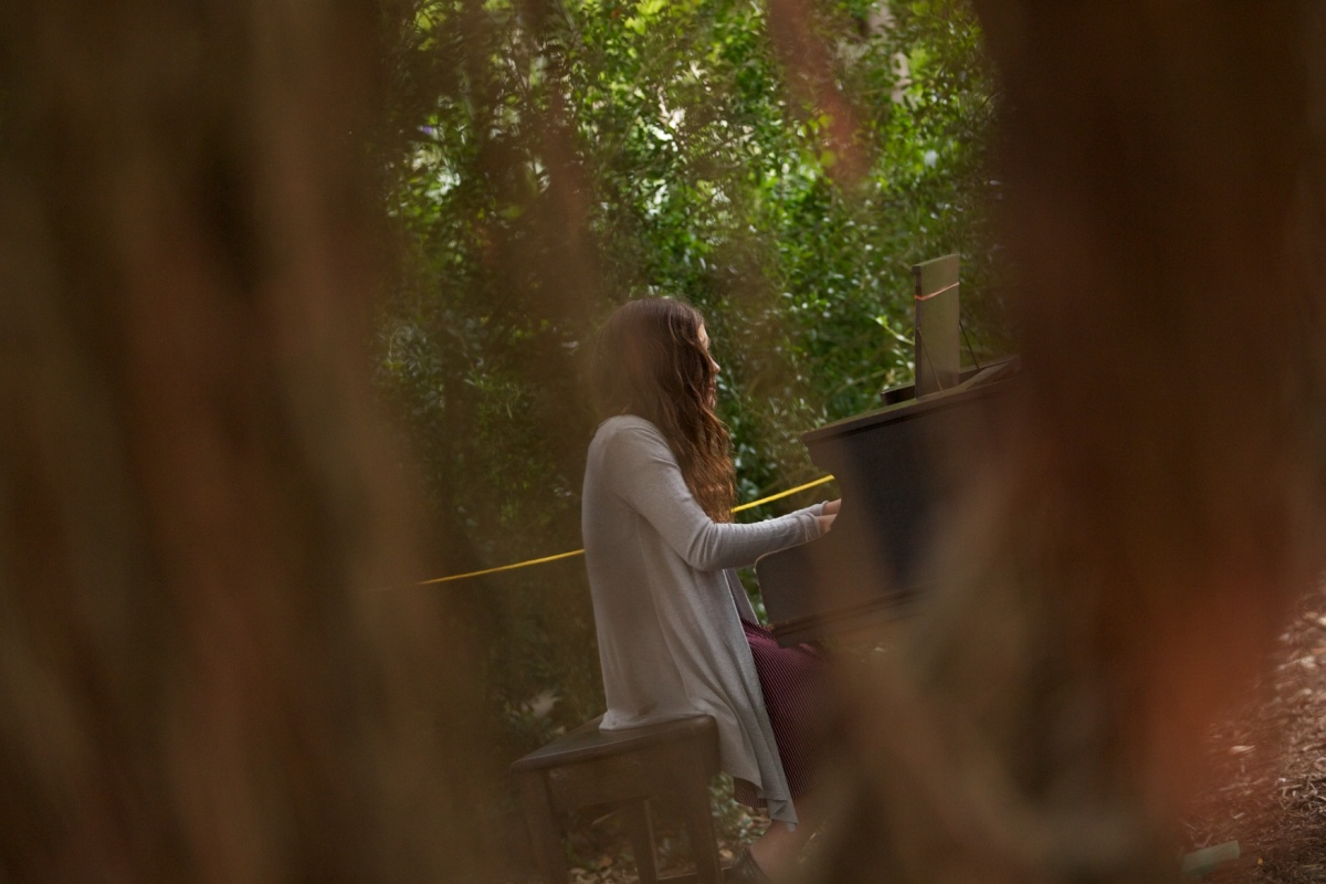 The SF Botanical Garden has found the best way for people to play the piano.