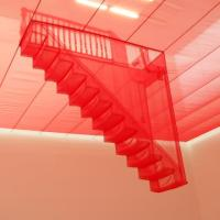 Do-ho Suh and the Red Staircase.
