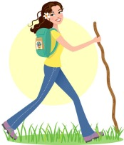 girl-hiking-cartoon-hiking-trims-the-thighs-ceqm8h-clipart