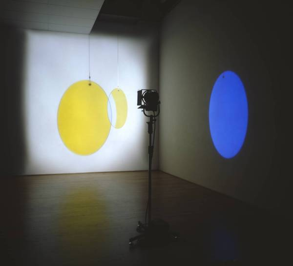 Yellow versus Purple 2003 by Olafur Eliasson born 1967
