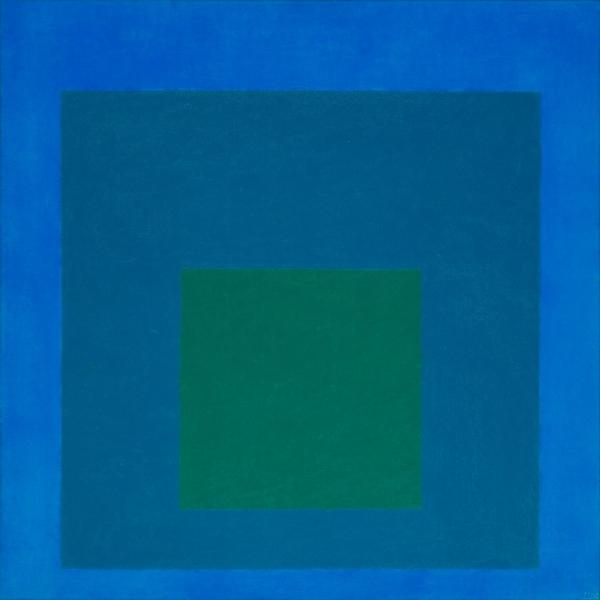 Study for Homage to the Square: Beaming 1963 Josef Albers 1888-1976 Presented by Mrs Anni Albers, the artist's widow and the Josef Albers Foundation 1978 http://www.tate.org.uk/art/work/T02310