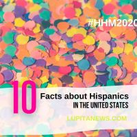 10 Facts About Hispanics in the United States, 2020 edition.