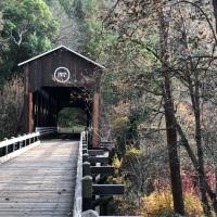 One Of My Best Memories of Oregon's McKee Covered Bridge. #Roadtrip2019