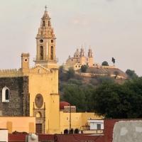 The Many Churches in Cholula, Puebla